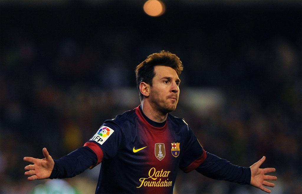 Triunfo do Barcelona, recorde de Messi