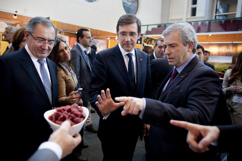 Passos Coelho esteve no Salão Internacional do Sector Alimentar e Bebidas